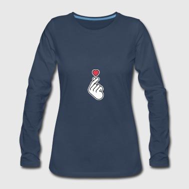 Heart - Women's Premium Long Sleeve T-Shirt