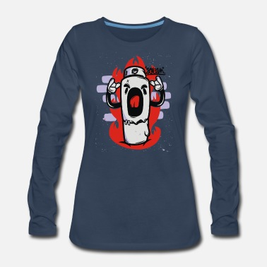 Scream - Women's Premium Long Sleeve T-Shirt