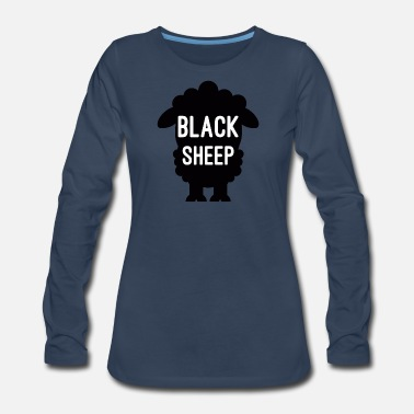 Black Sheep Black Sheep - Women's Premium Long Sleeve T-Shirt