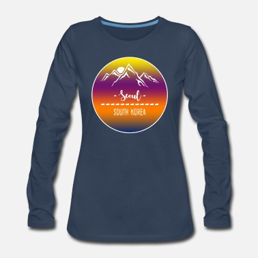 Seoul Seoul South Korea - Women's Premium Longsleeve Shirt