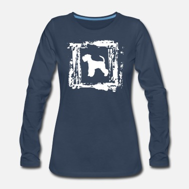 Munich Giant Schnauzer Dog Schnauzers Puppy Schnauzer - Women's Premium Long Sleeve T-Shirt
