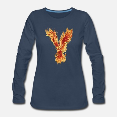 Flying Phoenix - Women's Premium Longsleeve Shirt
