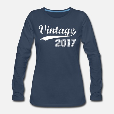 2017 2017 - Women's Premium Long Sleeve T-Shirt