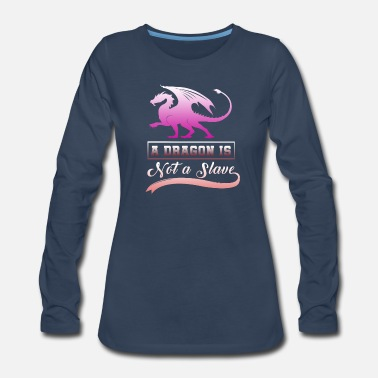 Boat Dragon - Women's Premium Long Sleeve T-Shirt
