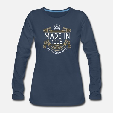 Original Made In 1998 All Original Parts - Women's Premium Long Sleeve T-Shirt