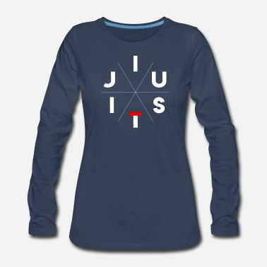 JiuJitsu - Women's Premium Long Sleeve T-Shirt