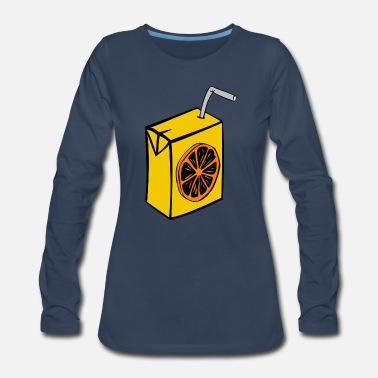 Juice Orange Juice - Women's Premium Long Sleeve T-Shirt