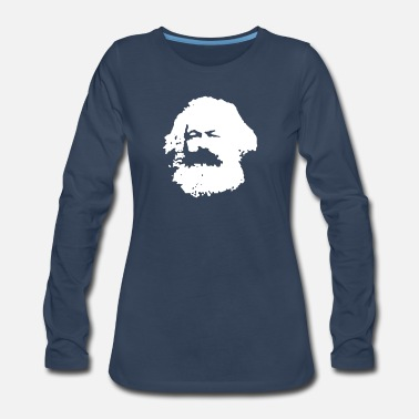 Karl Karl Marx - Women's Premium Long Sleeve T-Shirt
