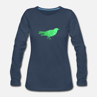 Goldfish Fish Comic Design green - Women's Premium Long Sleeve T-Shirt