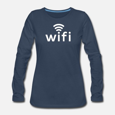 Wifi Wifi - Women's Premium Long Sleeve T-Shirt