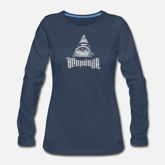 Illuminati Long-Sleeve Shirts - Illuminati - Women's Premium Longsleeve Shirt navy