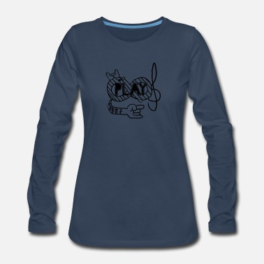 Playing Play - Women's Premium Long Sleeve T-Shirt