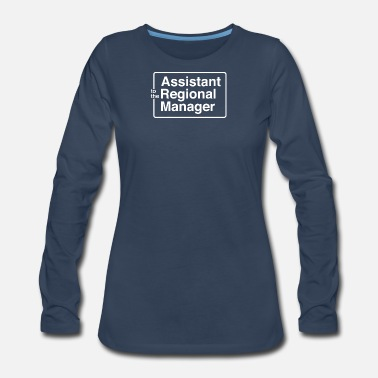 Region Asst To The Regional Manager - Women's Premium Long Sleeve T-Shirt