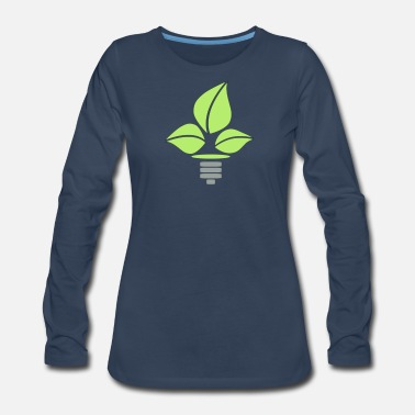 Eco Eco Lightbulb - Women's Premium Long Sleeve T-Shirt