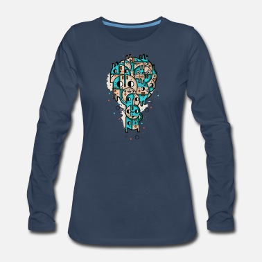 Stamps Stamp - Women's Premium Long Sleeve T-Shirt