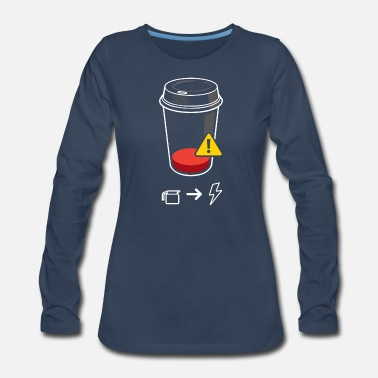 Require Refill Required - Women's Premium Longsleeve Shirt