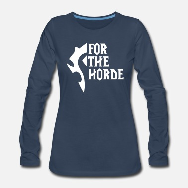 Horde For The Horde - Women's Premium Longsleeve Shirt