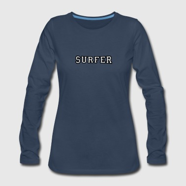 Surfer - Women's Premium Long Sleeve T-Shirt