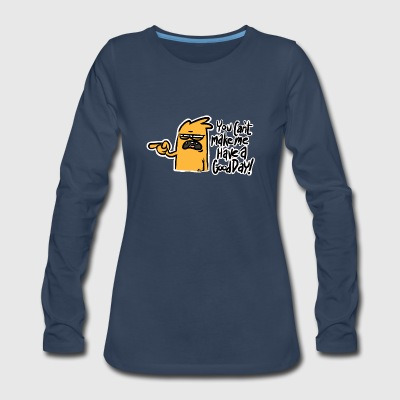 CURMUDGEON TEE - Women's Premium Long Sleeve T-Shirt