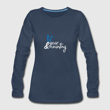1st anniversary - Women's Premium Long Sleeve T-Shirt