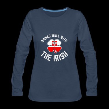 Polish St Patrick Gift - Women's Premium Long Sleeve T-Shirt