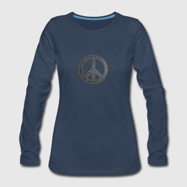Peace,Love,Music - Women's Premium Long Sleeve T-Shirt