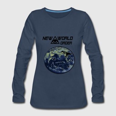 new world order - Women's Premium Long Sleeve T-Shirt