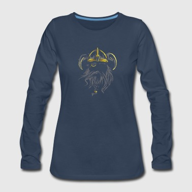 Viking Warrior - Women's Premium Long Sleeve T-Shirt
