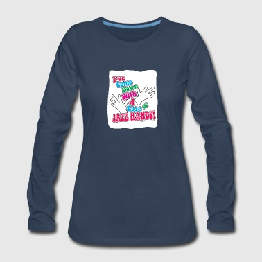 A Case of Jazz Hands! - Women's Premium Long Sleeve T-Shirt