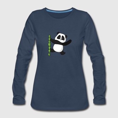 panda - Women's Premium Long Sleeve T-Shirt