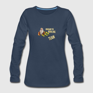 Zeus's Bowling Team - Women's Premium Long Sleeve T-Shirt