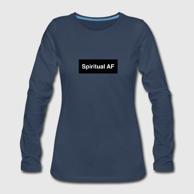 Spiritual af design - Women's Premium Long Sleeve T-Shirt