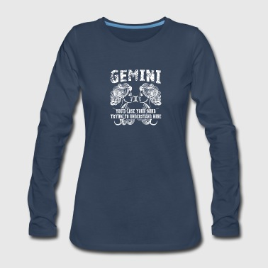 GEMINI TEE SHIRT - Women's Premium Long Sleeve T-Shirt