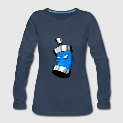 spray can - Women's Premium Long Sleeve T-Shirt
