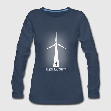2017 Electrical Safety T Shirt - Women's Premium Long Sleeve T-Shirt