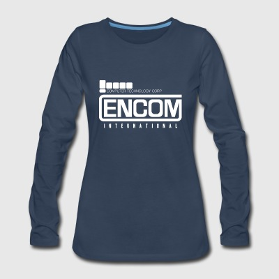 Encom International T Shirt - Women's Premium Long Sleeve T-Shirt