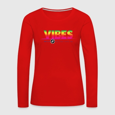 1NE VIBE COLOR - Women's Premium Long Sleeve T-Shirt