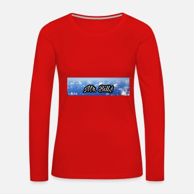 Mr. Bill$ logo - Women's Premium Long Sleeve T-Shirt