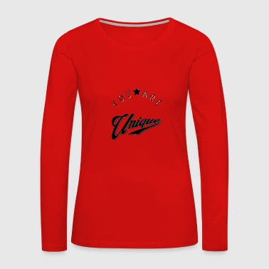 Be Diffrent - Women's Premium Long Sleeve T-Shirt