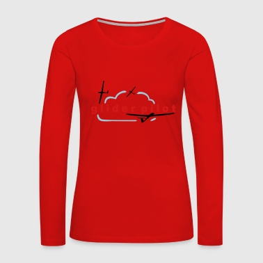 glider pilot - Women's Premium Long Sleeve T-Shirt