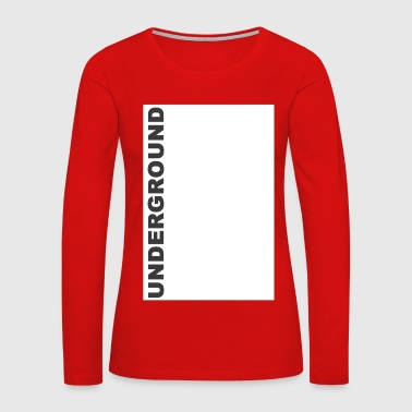 Technology Underground 1 white box - Women's Premium Long Sleeve T-Shirt