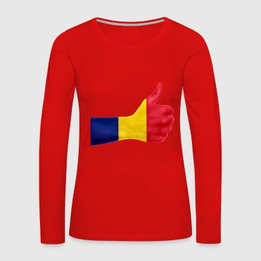 Romania romania - Women's Premium Long Sleeve T-Shirt