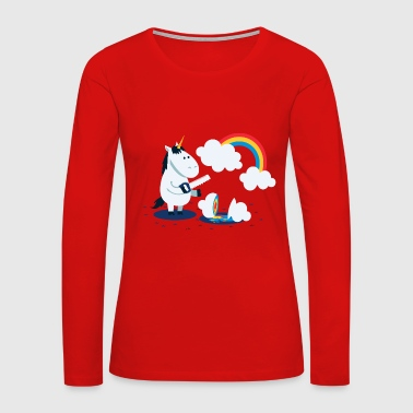 Rainbow Blast - Women's Premium Long Sleeve T-Shirt