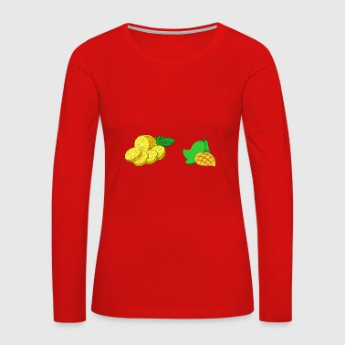 pineapple - Women's Premium Long Sleeve T-Shirt