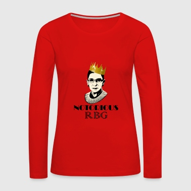 Notorious RBG - Women's Premium Long Sleeve T-Shirt