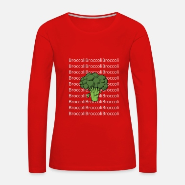 First broccoli - Women's Premium Long Sleeve T-Shirt
