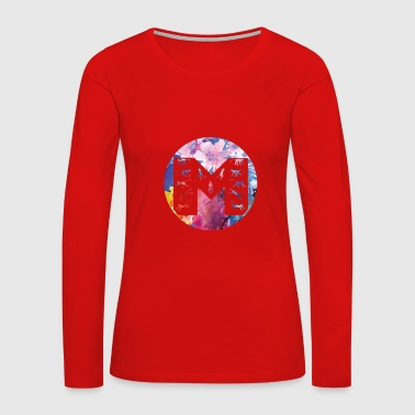 M for Monkey T-Shirts & Gifts - Women's Premium Long Sleeve T-Shirt