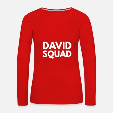 David David Squad - Women's Premium Long Sleeve T-Shirt