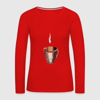 Coffee 1 - Women's Premium Long Sleeve T-Shirt
