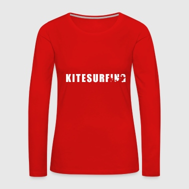kitesurfing kites surfers - Women's Premium Long Sleeve T-Shirt